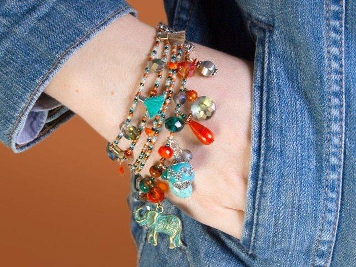 Charm Jewelry Tutorials